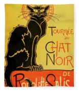Chat Noir Fleece Blanket