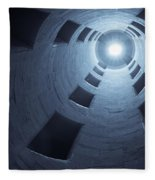 Chateau De Chambord Double Staircase Fleece Blanket