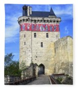Chateau De Chinon Fleece Blanket
