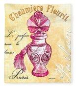 Chaumiere Fleurit Fleece Blanket