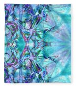 Chay Is Alive-triptych Part 3 Fleece Blanket