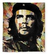 Che Guevara Revolution Gold Fleece Blanket