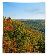 Cheat River Fleece Blanket