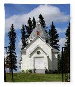 Chechow Holy Spirit Church 1  Fleece Blanket