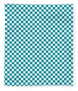 Checkerboard Fleece Blanket