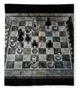 Checkmate In One Move Fleece Blanket