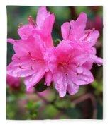 Cheerful Rain Fleece Blanket