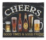 Cheers  Fleece Blanket