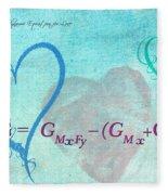 Chemical Thermodynamic Equation For Love Fleece Blanket