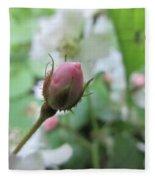 Cherokee Rose Of Dover Fleece Blanket