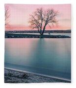 Cherry Creek Sunrise Fleece Blanket