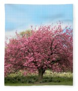 Cherry Grove Fleece Blanket