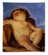 Cherub Sleeps 1627 Fleece Blanket