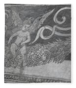 Cherub Stone Graffiti 2 Fleece Blanket