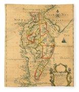 Chesapeake Bay 1786 Fleece Blanket