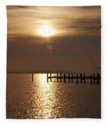 Chesapeake Morning Fleece Blanket