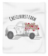 Chesilhurst Farm Fleece Blanket