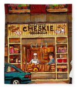 Cheskies Hamishe Bakery Fleece Blanket