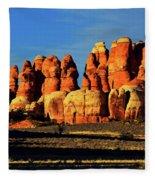 Chesler Park Sandstone Towers Fleece Blanket