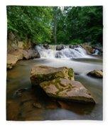 Chestnut Creek Falls  Fleece Blanket