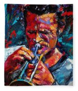 Chet Baker Fleece Blanket