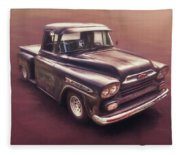 Chevrolet Apache Pickup Fleece Blanket