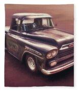 Chevrolet Apache Pickup Fleece Blanket