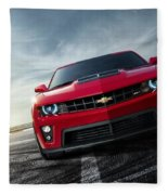 Chevrolet Camaro Zl1 2012 Fleece Blanket