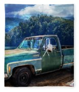 Chevy Bonanza Fleece Blanket