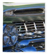 Chevy Low And Slow Fleece Blanket
