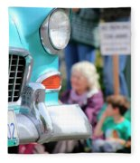 Chevy On Parade Fleece Blanket