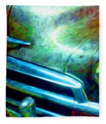 1953 Bel Air Chevy Project 2 Fleece Blanket