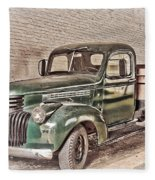 Chevy Truck Fleece Blanket