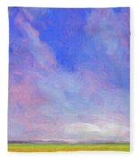 Cheyenne Spring Fleece Blanket