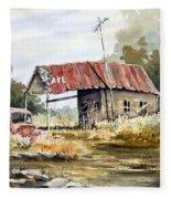 Cheyenne Valley Station Fleece Blanket