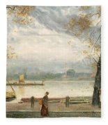 Cheyne Walk Fleece Blanket