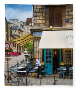 Chez Julien Fleece Blanket