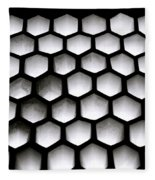 Chiaroscuro Geometry Fleece Blanket