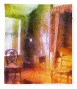 Chicago Art Institute Miniature Room Pa Prismatic 07 Fleece Blanket