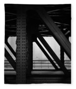 Chicago Bridge Fleece Blanket