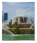 Chicago Buckingham Fleece Blanket