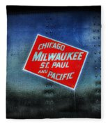 Chicago Milwaukee St. Paul And Pacific Fleece Blanket