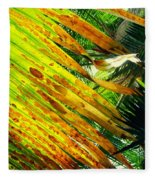 Chicago Palm House Fleece Blanket