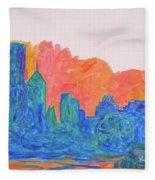 Chicago Spin Fleece Blanket