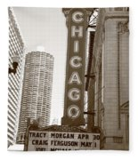 Chicago Theater Fleece Blanket
