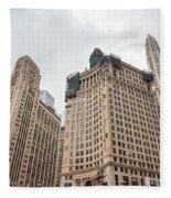 Chicago Towers Fleece Blanket