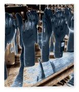 Chicago Warehouse Hands Fleece Blanket