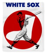 Chicago White Sox 1960 Scorebook Fleece Blanket