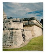 Chichen Itza 1 Fleece Blanket