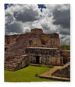 Chichen Itza 2 Fleece Blanket